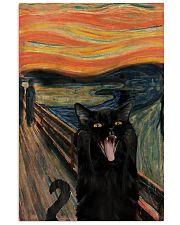 Black cat scream 11x17 Poster front