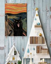 Black cat scream 11x17 Poster lifestyle-holiday-poster-2