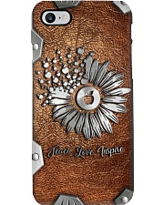 Teach love inspire Metal pattern print  Phone Case i-phone-8-case
