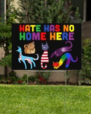 Hate has no home here 18x12 Yard Sign aos-yard-sign-18x12-lifestyle-front-01