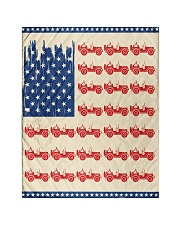"""American flag Quilt 40""""x50"""" - Baby front"""