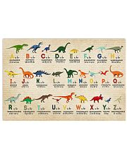 Dinosaur alphabet 17x11 Poster front