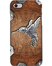 Hummingbird Metal pattern print Phone Case i-phone-8-case