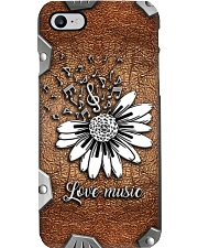 Love music Metal Pattern Print Phone Case i-phone-8-case