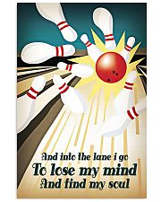 And into the lane I go 11x17 Poster front