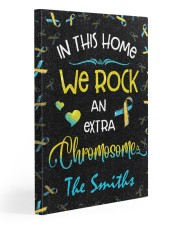 In this home we rock an extra chromosome Gallery Wrapped Canvas Prints tile