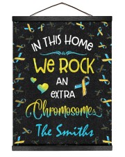In this home we rock an extra chromosome Hanging Canvas tile