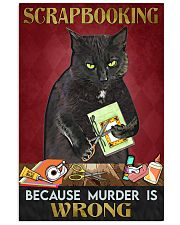 oking because murder is wrong  11x17 Poster front