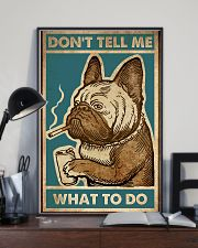 Don't tell me what to do 11x17 Poster lifestyle-poster-2