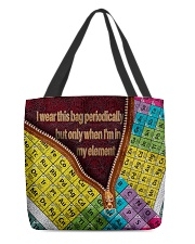 I wear this bag periodically  All-over Tote back