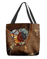 American sunflower  All-over Tote back