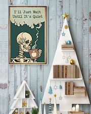 I'll Just Wait Until It's Quiet Halloween 11x17 Poster lifestyle-holiday-poster-2