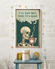 I'll Just Wait Until It's Quiet Halloween 11x17 Poster lifestyle-holiday-poster-3