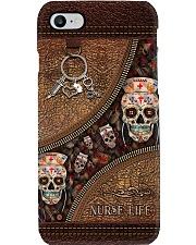 Nurse life leather pattern print Phone Case i-phone-8-case