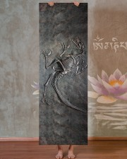 Dinosaur Fossil Metal Pattern Printed Yoga Mat 24x70 (vertical) aos-yoga-mat-lifestyle-29