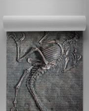Dinosaur Fossil Metal Pattern Printed Yoga Mat 24x70 (vertical) aos-yoga-mat-lifestyle-32