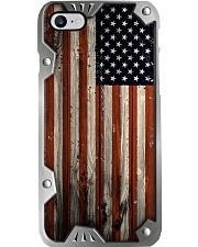 America Metal pattern print  Phone Case i-phone-8-case