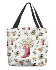Love gardening All-over Tote back