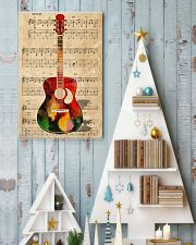 Watercolor guitar 11x17 Poster lifestyle-holiday-poster-2