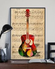 Watercolor guitar 11x17 Poster lifestyle-poster-2