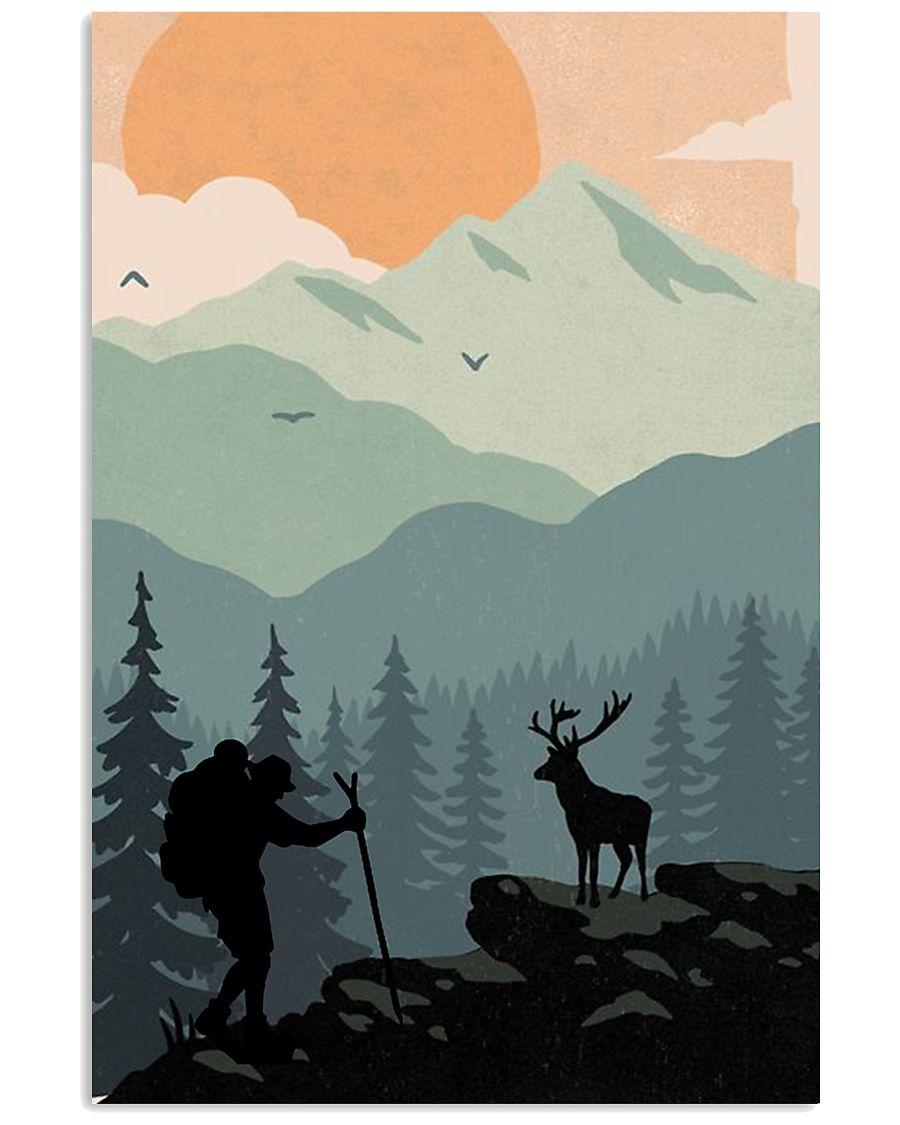 Vintage Hiking 11x17 Poster