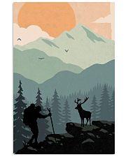 Vintage Hiking 11x17 Poster front