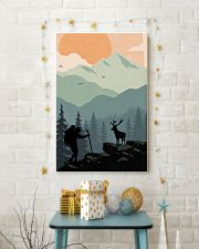 Vintage Hiking 11x17 Poster lifestyle-holiday-poster-3