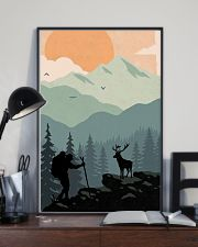 Vintage Hiking 11x17 Poster lifestyle-poster-2