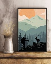 Vintage Hiking 11x17 Poster lifestyle-poster-3