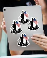 I wanna be the one Sticker - 4 pack (Vertical) aos-sticker-4-pack-vertical-lifestyle-front-11