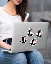 I wanna be the one Sticker - 4 pack (Vertical) aos-sticker-4-pack-vertical-lifestyle-front-15