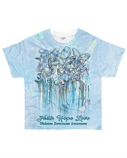 Faith Hope Love All-over T-Shirt front