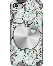 Merry Christmas Metal Pattern Print  Phone Case i-phone-8-case