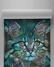 Cat  Yoga Mat 24x70 (vertical) aos-yoga-mat-lifestyle-32