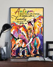 Autism doesn't come with a manual family 11x17 Poster lifestyle-poster-2