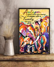 Autism doesn't come with a manual family 11x17 Poster lifestyle-poster-3