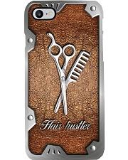 Hair hustler Metal pattern print Phone Case i-phone-8-case