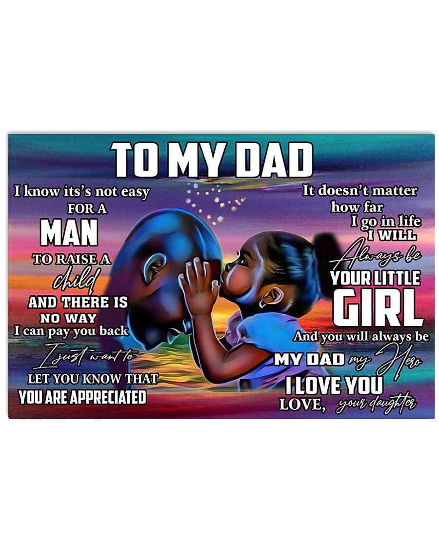 To my dad 17x11 Poster