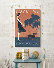 Love me love my dog 11x17 Poster lifestyle-holiday-poster-3