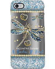 Retired but forever a teacher at heart Phone Case i-phone-8-case