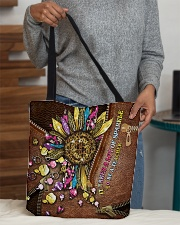 It takes a lot of sparkle to be a teacher  All-over Tote aos-all-over-tote-lifestyle-front-10