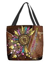 It takes a lot of sparkle to be a teacher  All-over Tote front