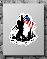 I wanna be the one  Sticker - 4 pack (Vertical) aos-sticker-4-pack-vertical-lifestyle-front-09