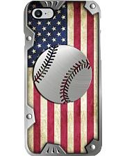 Baseball Metal pattern print Phone Case i-phone-8-case
