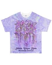 Faith Hope Love All-over T-Shirt front