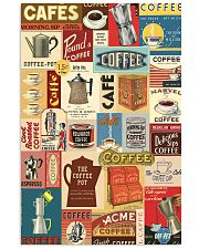 Vintage coffee poster 11x17 Poster front