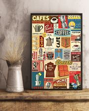 Vintage coffee poster 11x17 Poster lifestyle-poster-3