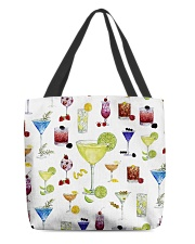 Cocktail party All-Over Tote tile