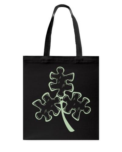 Puzzles - 3 leaf clover - Autism awareness