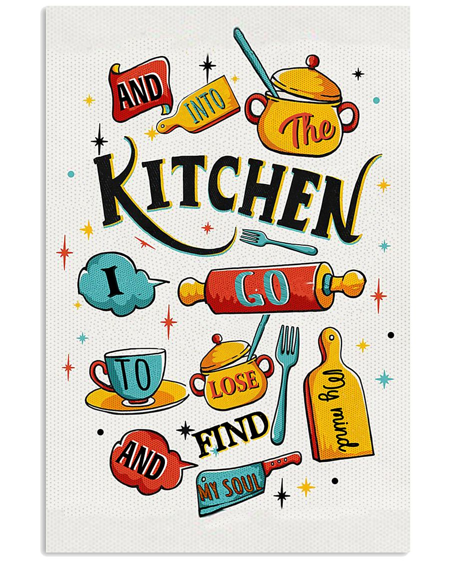 And into the kitchen I go 11x17 Poster